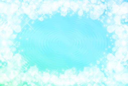 반짝이 물결 라이트 블루