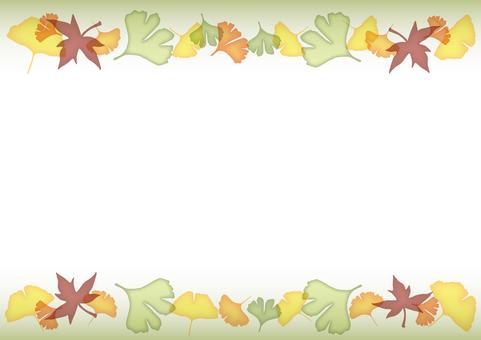 Fall decoration line · Green