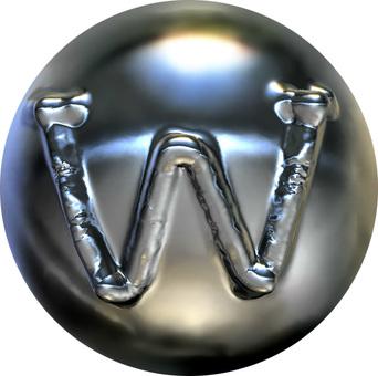 Metal sphere-W