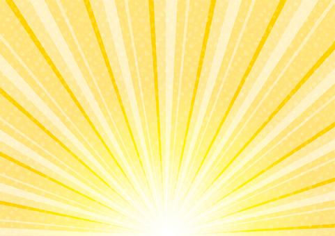 Sunrise-like radiation
