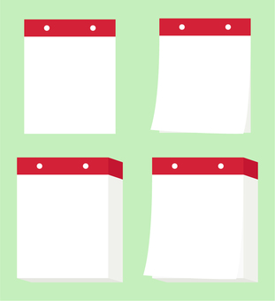 Nikkuri Calendar _ Red