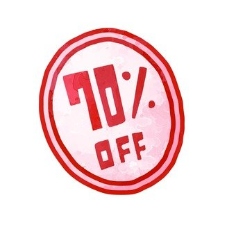 70% OFF seal