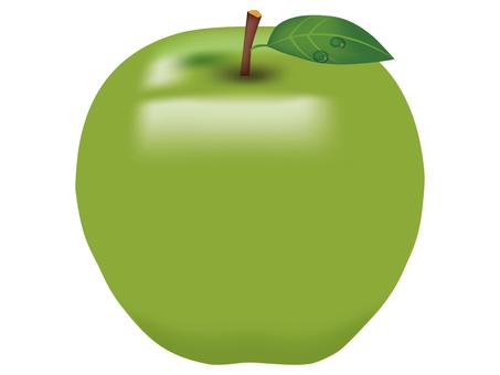 Green apple 01