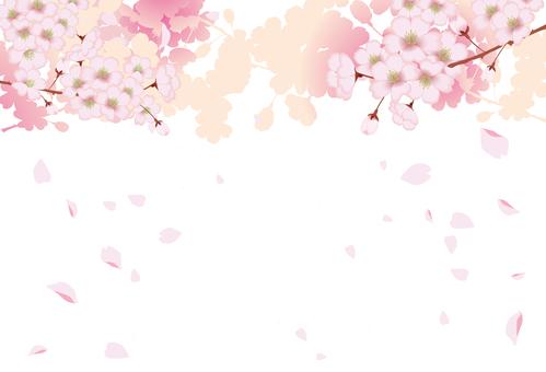 Spring cherry frame 3