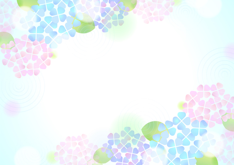 Pastel color hydrangea background 4