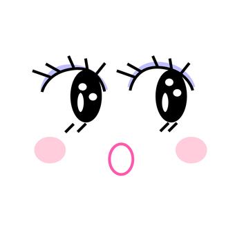 메이크업 얼굴