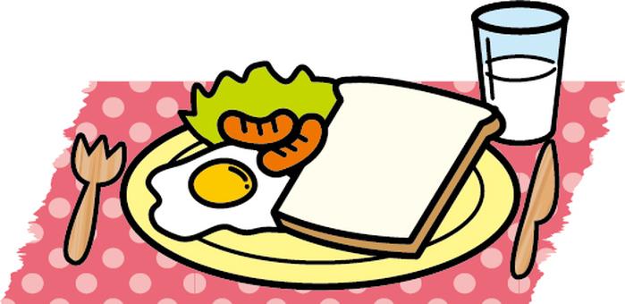 아침 ~ 양식 ~