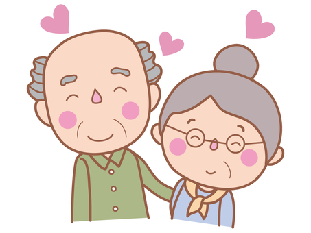 Senior (old couple)