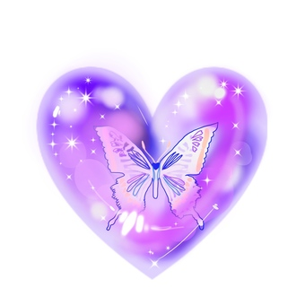 Butterfly and Heart