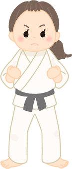 Judo woman