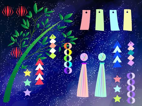 Tanabata set ver 01
