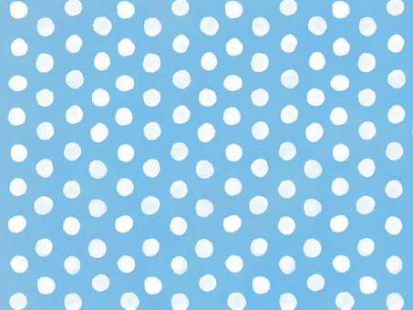 Watercolor dots background blue