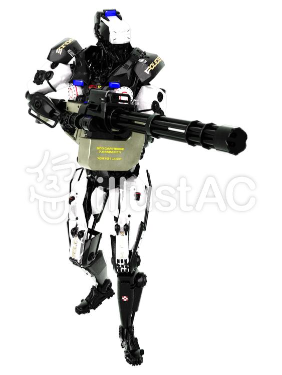 ロボットポリスのイラスト