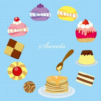 Various sweets