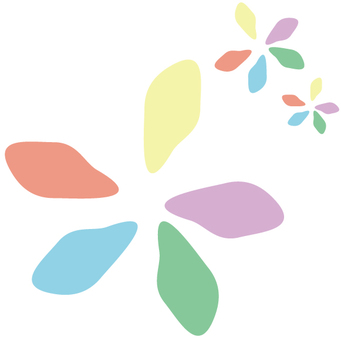 Flowers (for graphic materials and logos etc)
