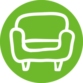 Rough icon sofa
