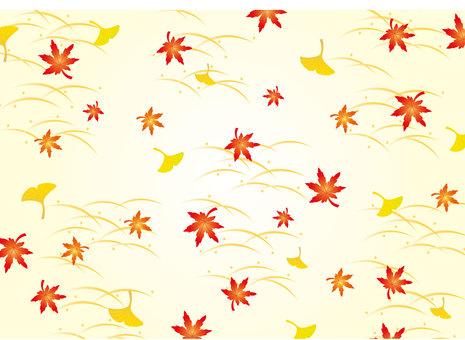 Pattern - fallen leaves