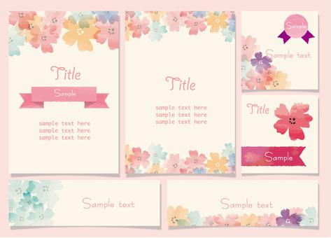 Cherry Blossoms Card Set