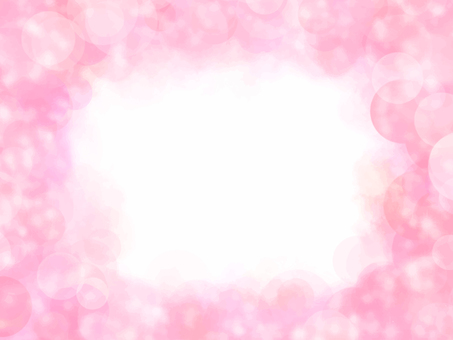 Beautiful soap background frame (pink)