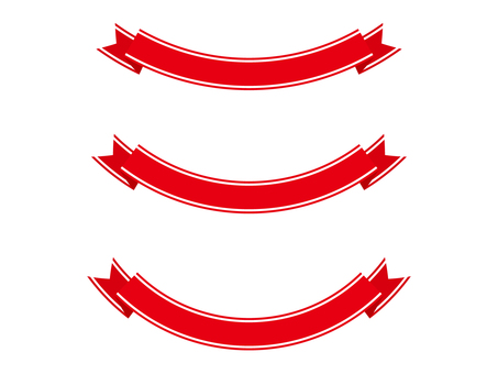 Ribbon 15 wire - red