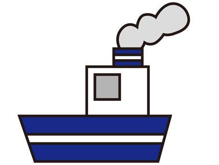 Boat 1 blue