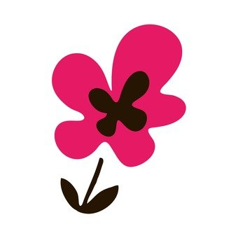 Scandinavian flowers (pink)