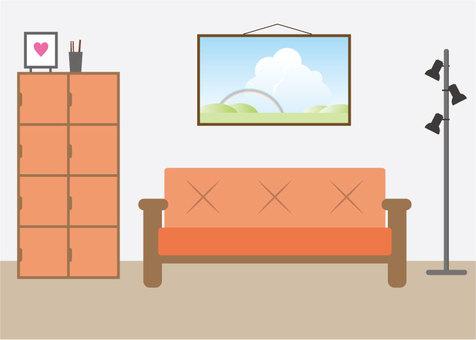 Illustration 3 in an interior room