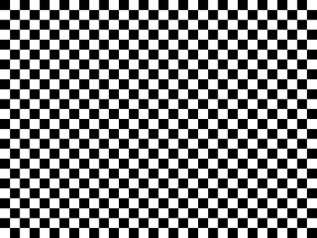 Simple checkerboard pattern / black and white