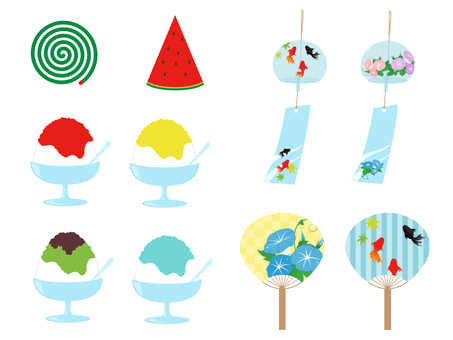 Simple summer motif Various