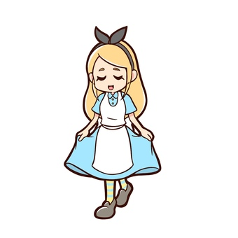 Alice bowing