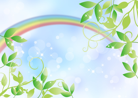 Veterinary _ sky _ rainbow background