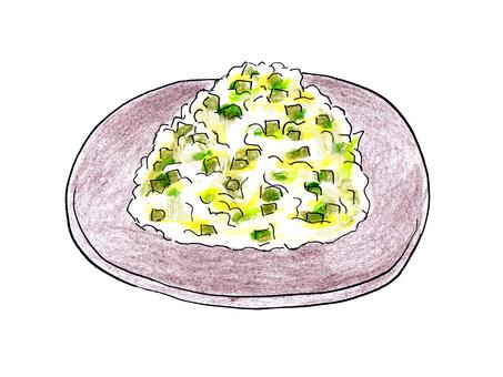 Wasabi pickles