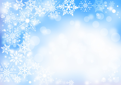 Christmas _ pale blue background