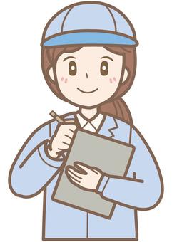 Female examination B