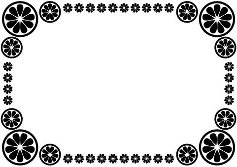 Frame - Citrus - Black
