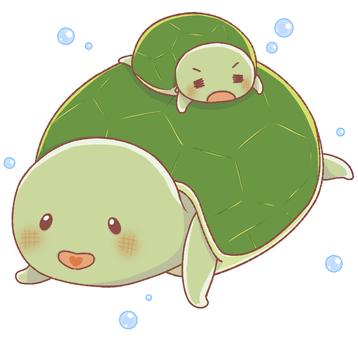 Turtle (parent and child)