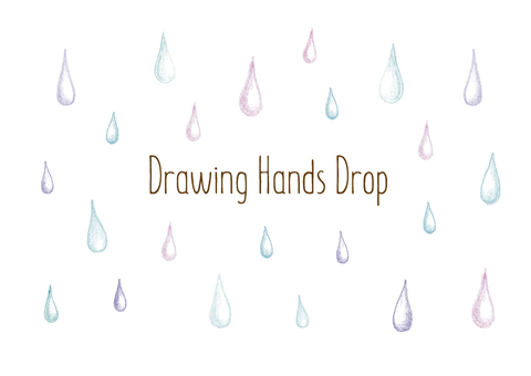 Handwritten illustration _ drop