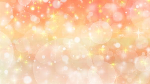 Orange star glitter wallpaper background