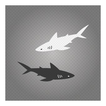 Business icon (shark)