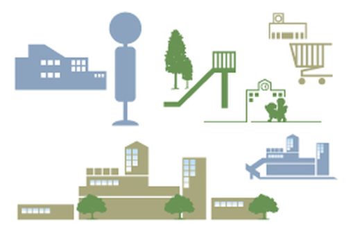 Environmental silhouette set
