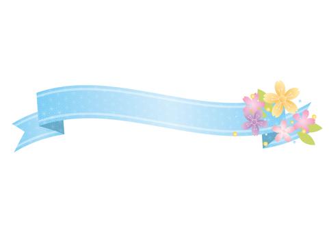 Decorative material 017 Ribbon