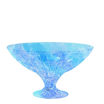Glass (blue)