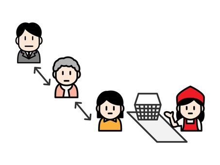 Cash Register Social Distance