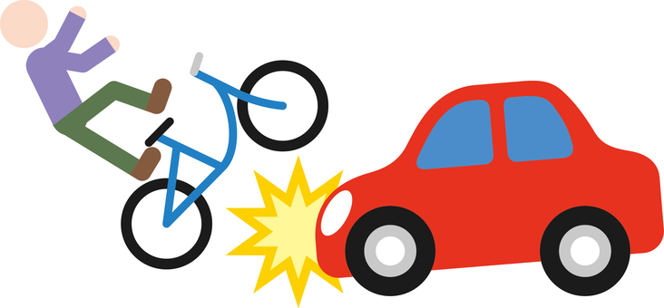 Traffic Accident Car Bicycle
