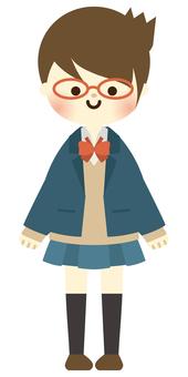 High school girl -3