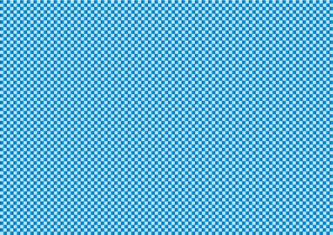 Checker Blue Gradation 01