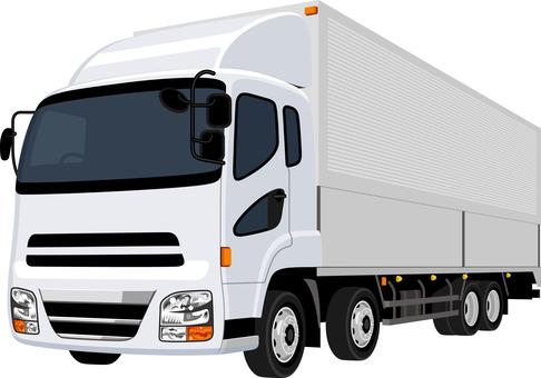 Truck Seven Three White