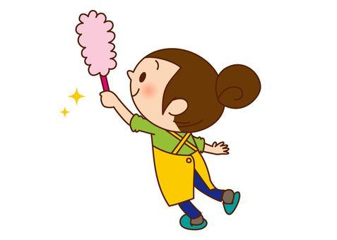 Female to clean - Hataki