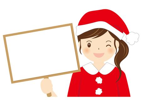Girls Santa A-001