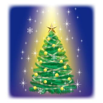 Christmas tree 2 of the holy night